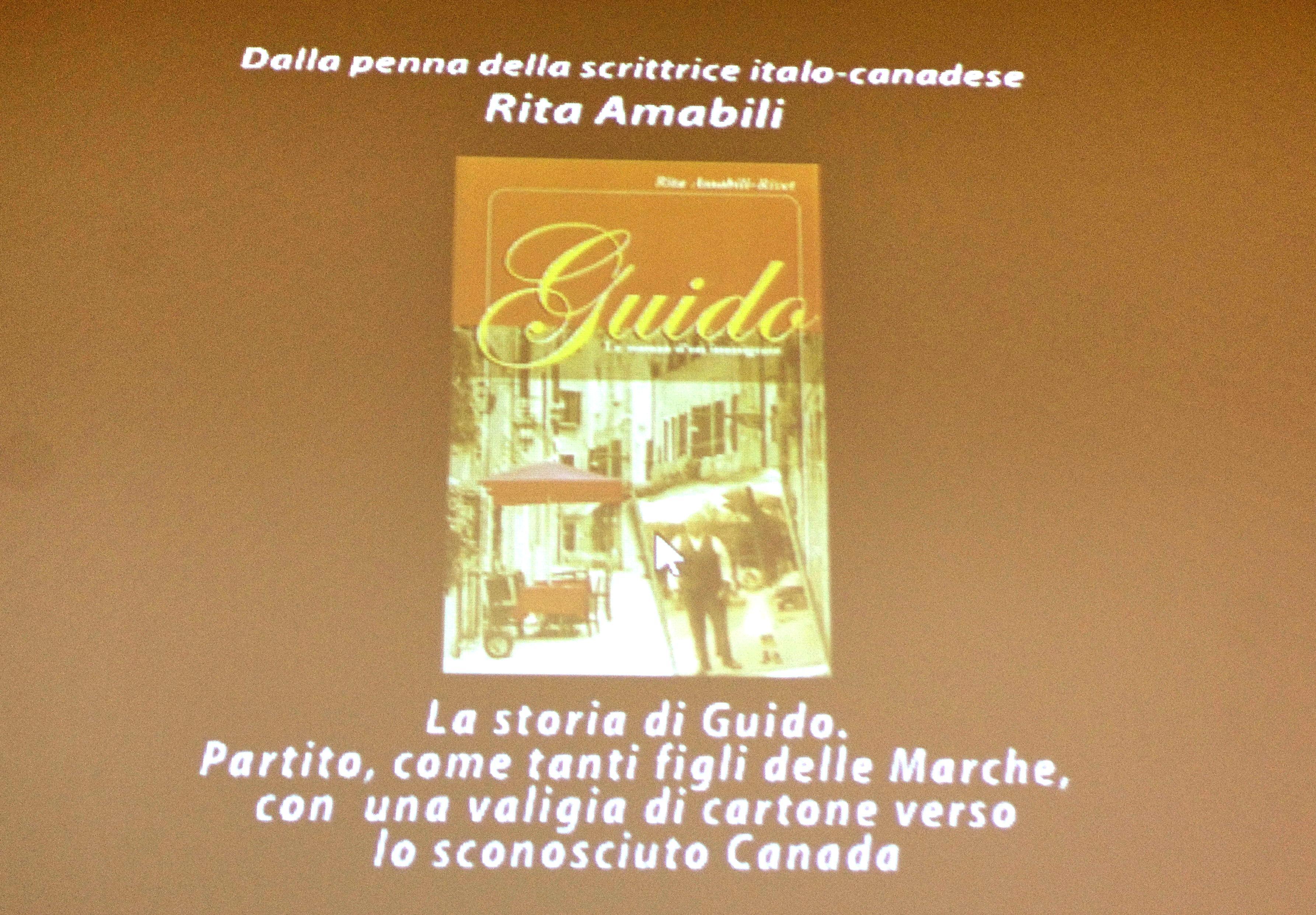 Présentation de l'œuvre de Guido dans la ville de Numana et Recanati (Italie) - 2011